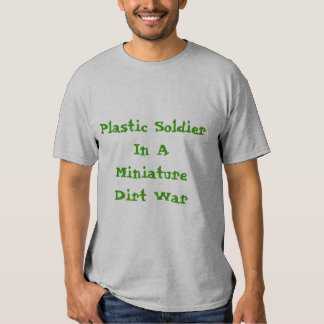 plastic soldier shirt