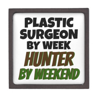 Plastic Surgeon by Week Hunter by Weekend Jewelry Box
