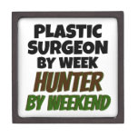 Plastic Surgeon by Week Hunter by Weekend Premium Gift Boxes