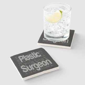 Plastic Surgeon Extraordinaire Stone Coaster