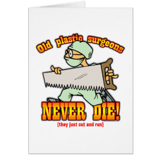Plastic Surgeons Card
