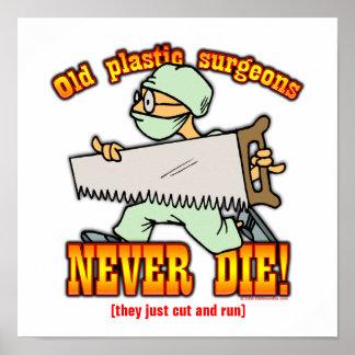Plastic Surgeons Poster