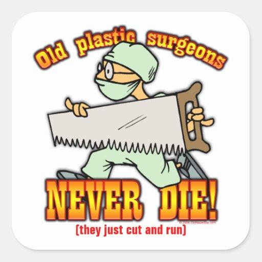 Plastic Surgeons Stickers