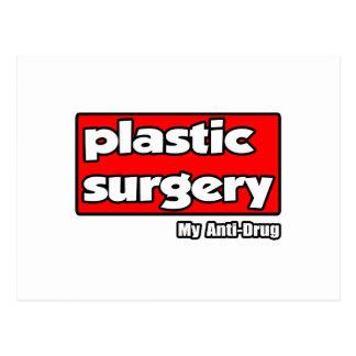 Plastic Surgery...My Anti-Drug Postcard