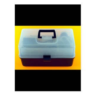 Plastic Tool Box Postcard