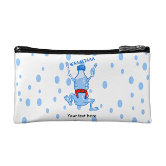 Plastic Water Bottle Martial Arts Makeup Bag