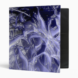 plastic wrap fire blue 3 ring binder