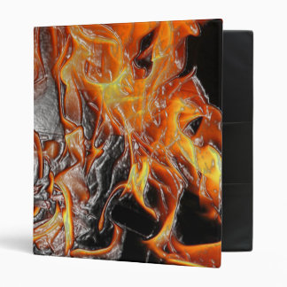 Plastic wrap fire vinyl binder
