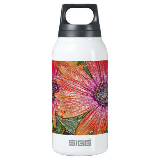 Plastic wrap insulated water bottle