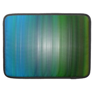Plasticidad verde y azul Macbook favorable 15 man Funda Macbook Pro