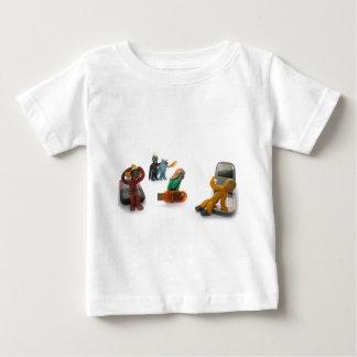 plasticine little people baby T-Shirt