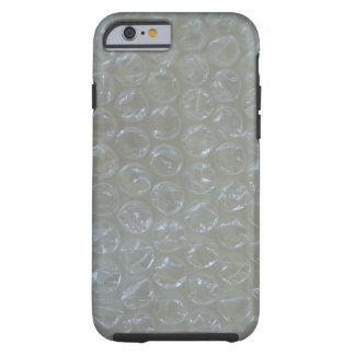Plástico de burbujas funda de iPhone 6 tough