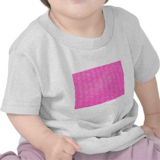 Plástico de burbujas plástico rosado camisetas