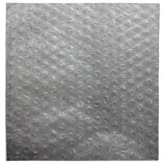 Plástico de burbujas servilletas imprimidas