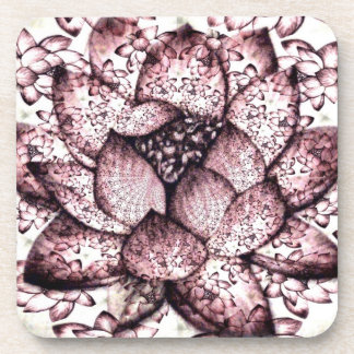 Plástico de Lotus/práctico de costa del corcho (fi Posavasos De Bebidas