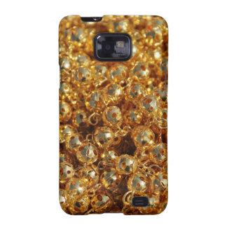 plástico del oro samsung galaxy s2 funda