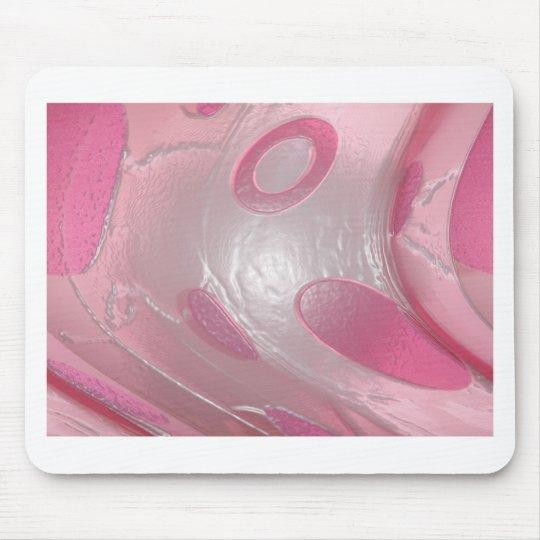 plástico rosado mouse pads