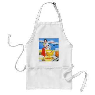 Plastics Suburban Kitsch Housewife Kitchen Adult Apron