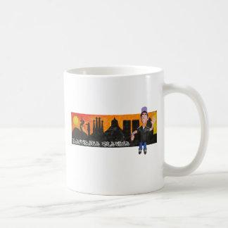 plastilina grafika classic white coffee mug