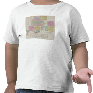 Plat de Larned, el condado de Pawnee, Kansas Camiseta