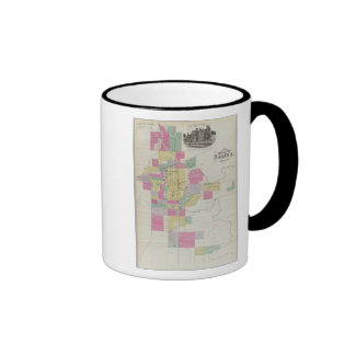 Plat of the City of Salina, Kansas Mugs