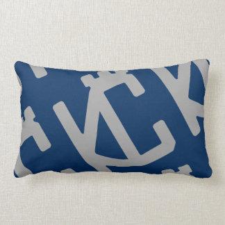 Plata azul de CheKCmate: Almohadas del estilo del