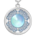 Plata azul Jewelled collar
