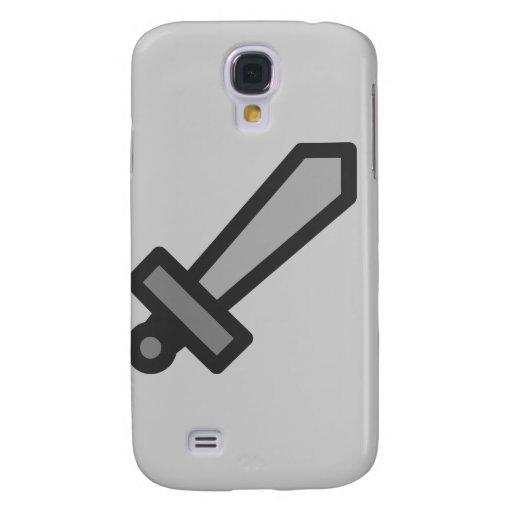 plata de la ley del arma de modern15-sword_Vector_ Funda Para Galaxy S4
