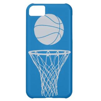 plata de la silueta del baloncesto del iPhone 5 en