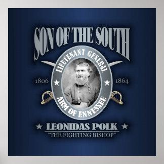 Plata de Leonidas Polk SOTS2 Poster