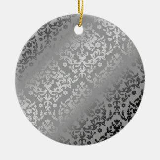 Plata del damasco del deslumbramiento 311 falsa ornamentos para reyes magos