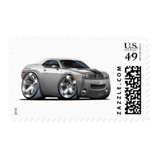 Plata del desafiador de Dodge/coche gris Sellos