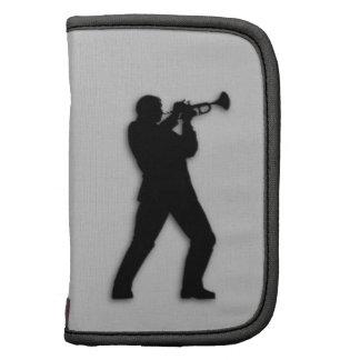 Plata del jugador de trompeta