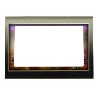 Plata del marco marcos magneticos de fotos