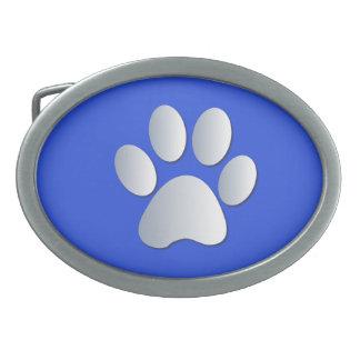 Plata del mascota del perro de la impresión de la  hebillas cinturón