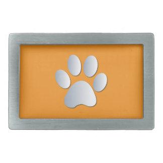 Plata del mascota del perro de la impresión de la hebillas de cinturón