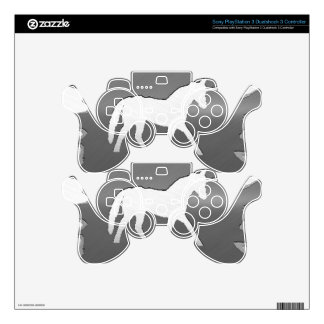 plata del unicon del arte del metal mando PS3 skin