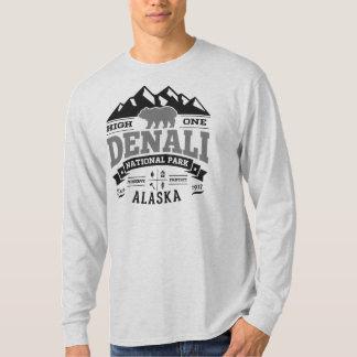 Plata del vintage de Denali Playeras