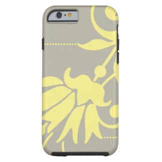 Plata/mantequilla botánicas - caso del compañero funda de iPhone 6 tough