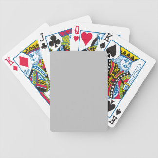 Plata mate baraja cartas de poker