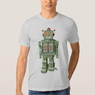 Plata mecánica de la camisa del robot del juguete