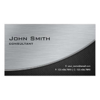 Plata moderna elegante profesional de la reparació tarjetas de visita