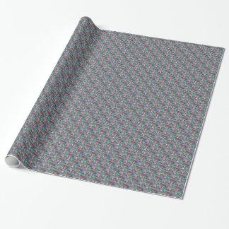 plata olográfica papel de regalo