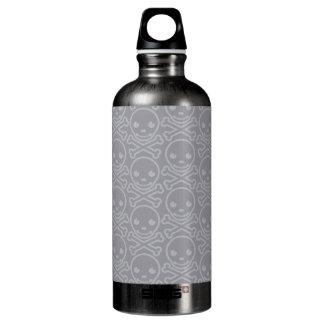 Plata pura de SkullKrush™ 30s Botella De Agua