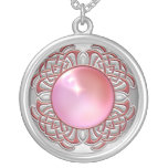 Plata rosada Jewelled collar