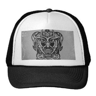Plata tribal viciosa 007 escarchados de la máscara gorra