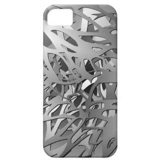 Plata y caja gris de las ramas iPhone5 del Funda Para iPhone SE/5/5s