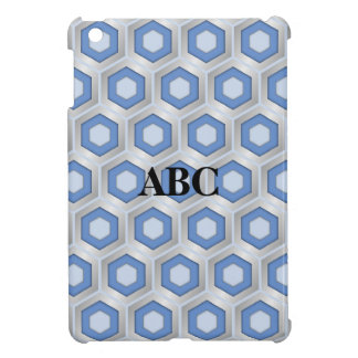Plata y mini cubierta tejada azul del iPad del mal iPad Mini Cárcasa