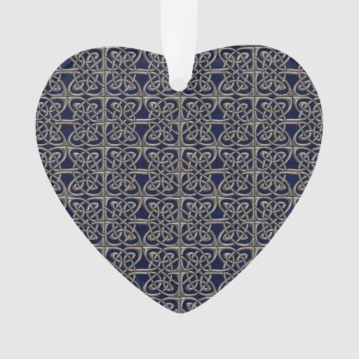 Plata y modelo conectado azul del Celtic de los
