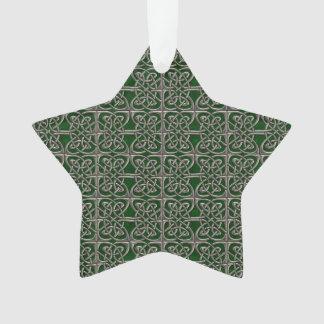 Plata y modelo conectado verde del Celtic de los